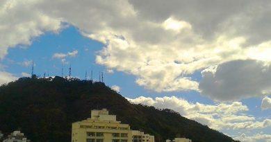 Tempo Cristo Morro ceu nuvem antenas Foto Marcos Alfredo 390x205 - Tempo instável na região
