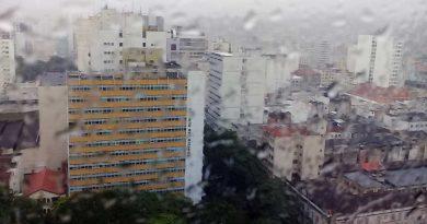 foto marcos alfredo chuva tempo 390x205 - Chuvas: Defesa Civil recebeu 9 chamados