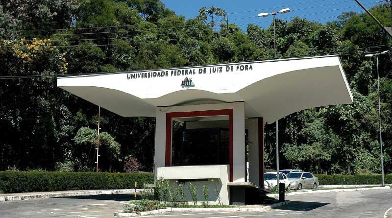 foto ufjf portico sul faculdade - Serviço Social da UFJF aprova cotas para a pós-graduação
