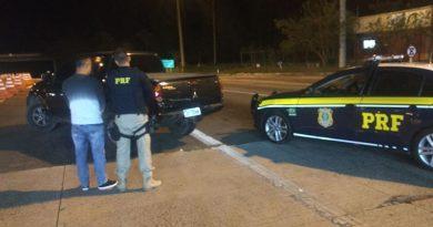 foto prf l200 roubada 390x205 - Polícia Rodoviária recupera caminhonete roubada