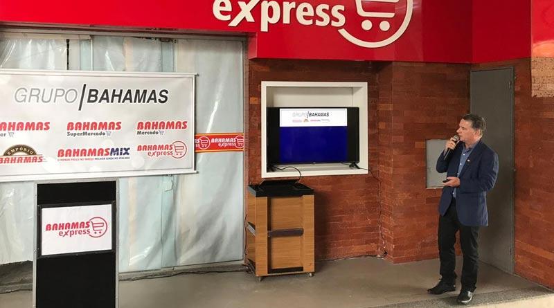 "foto joubertt telles bahamas express - Grupo Bahamas lança nova loja com conceito ""express"""