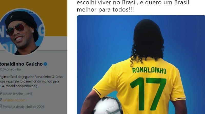 Posição política: Barcelona se afasta de Ronaldinho