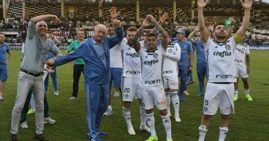 foto palmeiras 390x205 - Palmeiras é o campeão Brasileiro de 2018