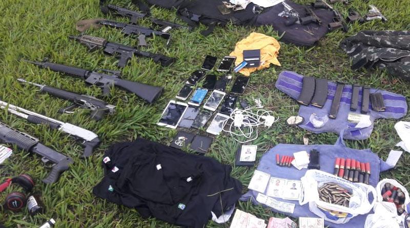 foto pm quadrilha - Polícia prende quadrilha em Leopoldina