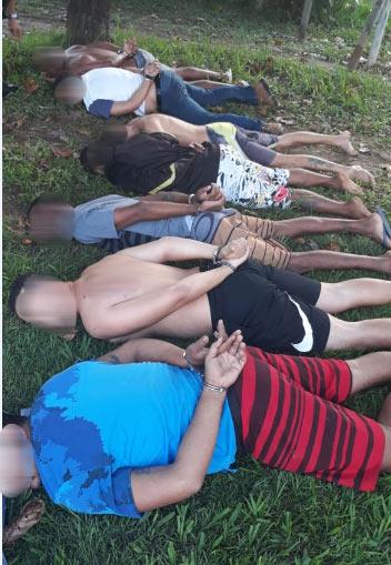 foto pm - Polícia prende quadrilha em Leopoldina