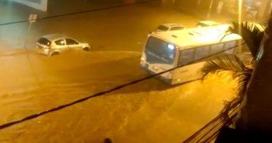 chuva barbacena santos dumont capa 390x205 - Chuva causa estragos em Barbacena e Santos Dumont