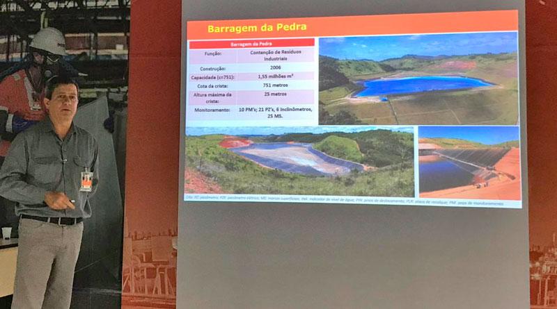 foto joubertt telles nexa barragem - Nexa realiza teste com sirenes em JF