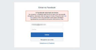 facebook fora do ar 390x205 - Facebook e Instagram fora do ar nesta quarta-feria