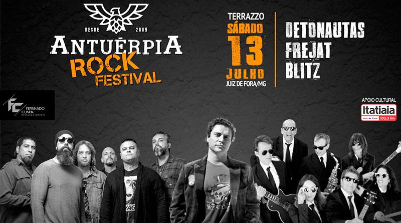 Antuérpia Rock Festival em Juiz de Fora