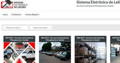leilao on line 1 390x205 - Governo de Minas anuncia leilão de 2 mil veículos