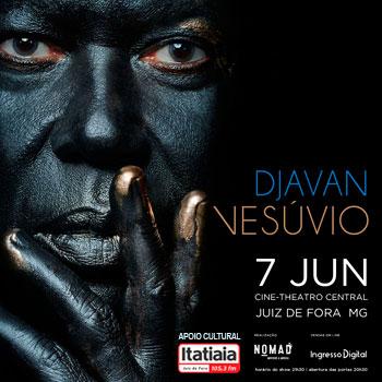 Djavan - Vesúvio em Juiz de Fora - 2019