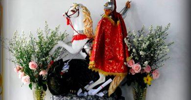 Dia de São Jorge é celebrado nesta terça