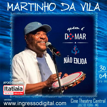 Martinho Da Vila no Cine-Theatro Central