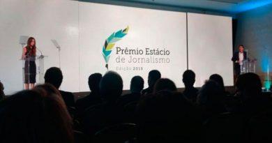 Inscrições abertas para o Prêmio Estácio de Jornalismo