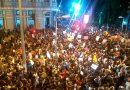 Em JF: 20 mil manifestantes participam da greve contra cortes na educação