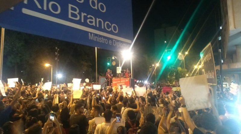 manifestacao juiz de fora foto marcos alfredo tyrft 800x445 - Cortes na educação: Quinta-feira tem nova manifestação em JF