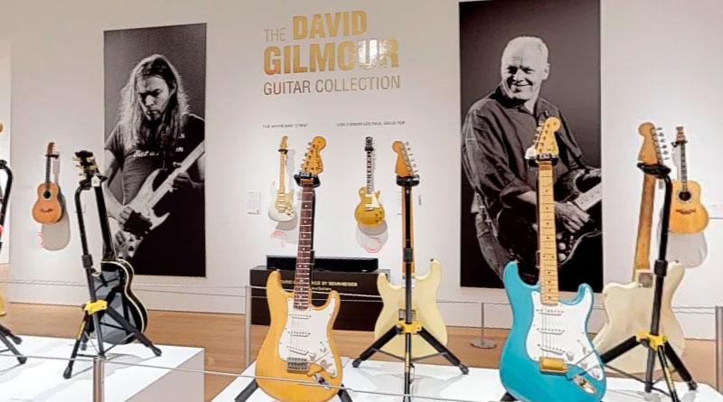 foto david gilmour leilao de guitarras pink floyd guitar - David Gilmour: Leilão arrecada mais de 20 milhões de dólares