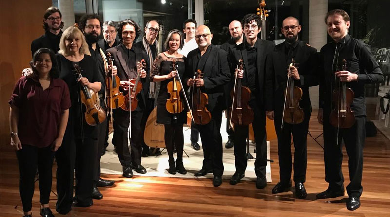 conjunto musica antiga usp - Conjunto da USP encerra a 30ª edição do Festival de Música Colonial Brasileira e Música Antiga