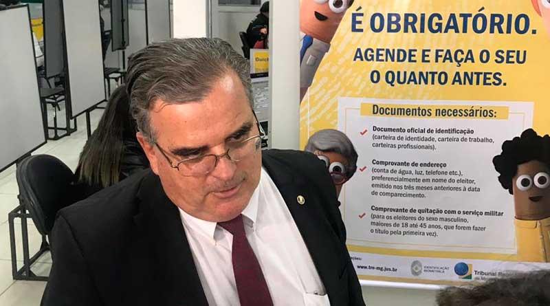 foto joubertt telles desembargador Rogério Medeiros tre - Serviço de recadastramento biométrico tem horário estendido
