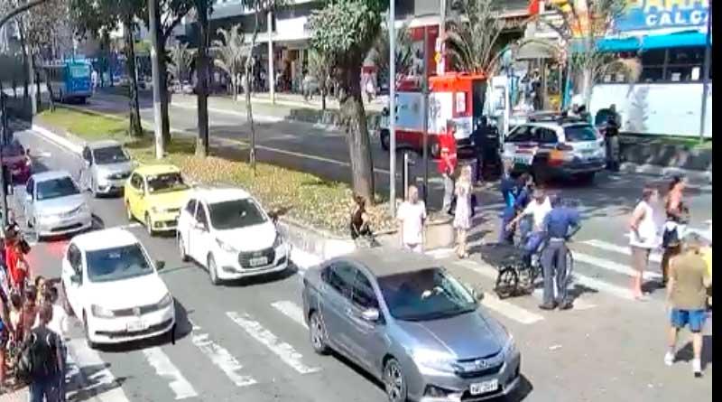 atropelamento rio branco - Atropelamento deixa vítima fatal na Av. Rio Branco