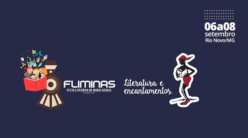 fliminas 2019 rio novo Festa Literária de Minas Gerais - FliMinas 2019 tem mais de 100 atrações