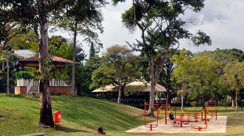 foto carlos mendonca divulgacao prefeitura parque da lajinha - Evento promove plantio de árvores no Parque da Lajinha