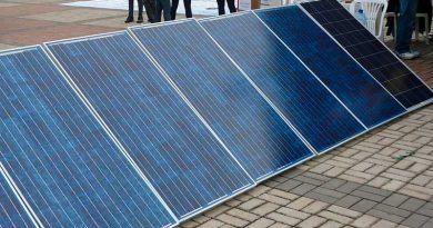 foto ufjf microgeração energia solar placa 390x205 - UFJF abre 40 vagas para curso de microgeração de energia solar