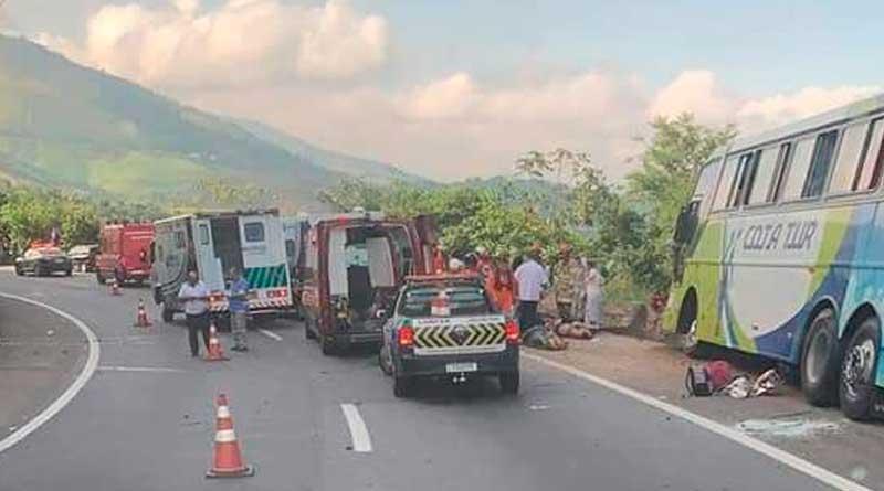 acidente - Acidente grave na Serra de Petrópolis faz vítimas