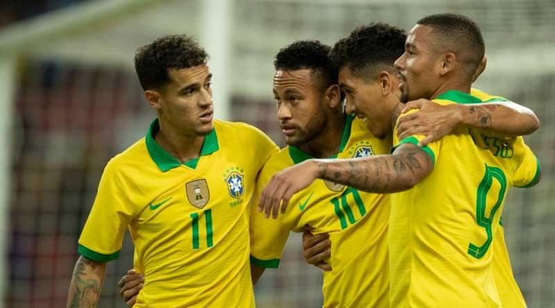 foto cbf selecao brasileira out 2019 neymar - Seleção brasileira fica no empate com Senegal