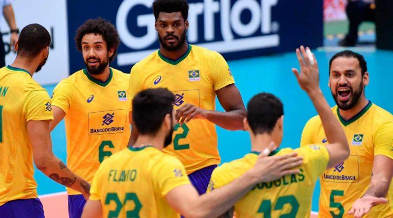 foto cbv selecao volei masculina masculino 2019 800x445 - Vôlei: Seleção segue invicta na Copa do Mundo