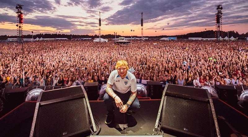 foto ed sheeran facebook - Ed Sheeran é o artista britânico mais rico com menos de 30 anos