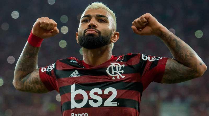 foto flamengo gabigol libertadores 2019 - Flamengo atropela Grêmio e está na final da Libertadores