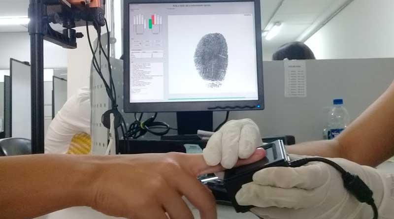 foto marcos alfredo recadastramento biometrico biometria tre eleicao - TRE alerta para cadastramento biométrico para eleitores de JF