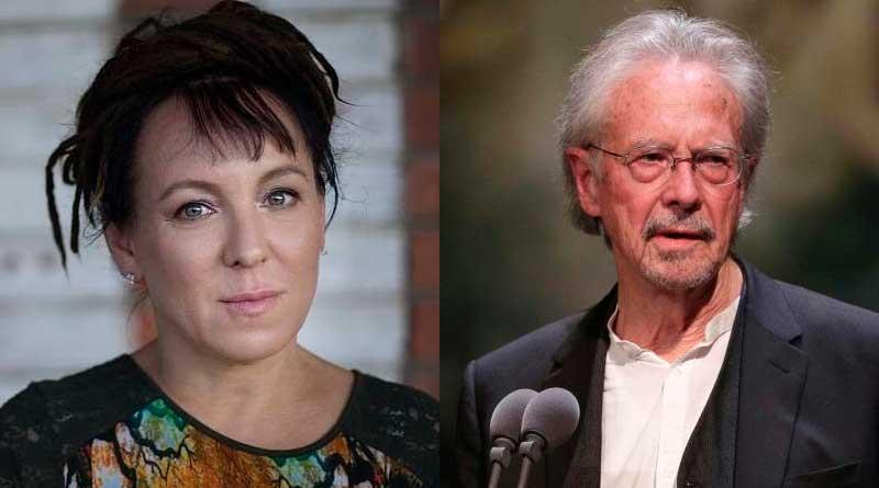 foto rede social premio nobel literatura 2019 - Olga Tokarczuk e Peter Handke ganham Prêmio Nobel de Literatura