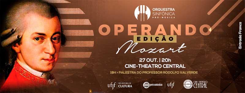 operando mozart pro musica e orquestra sinfonica - Orquestra e Coral Pró-Música apresentam óperas de Mozart em JF