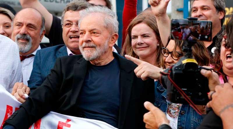 foto agencia estado itatiaia lula livre soltura curitiba - Justiça libera alvará de soltura e Lula deixa sede da Polícia Federal