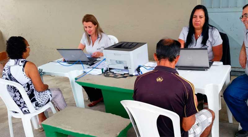 foto prefeitura agua cesama humaita - Cesama atende pedidos de ligação de água em Humaitá