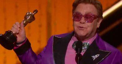 Oscar 2020: Elton John vence o prêmio de Melhor Canção Original