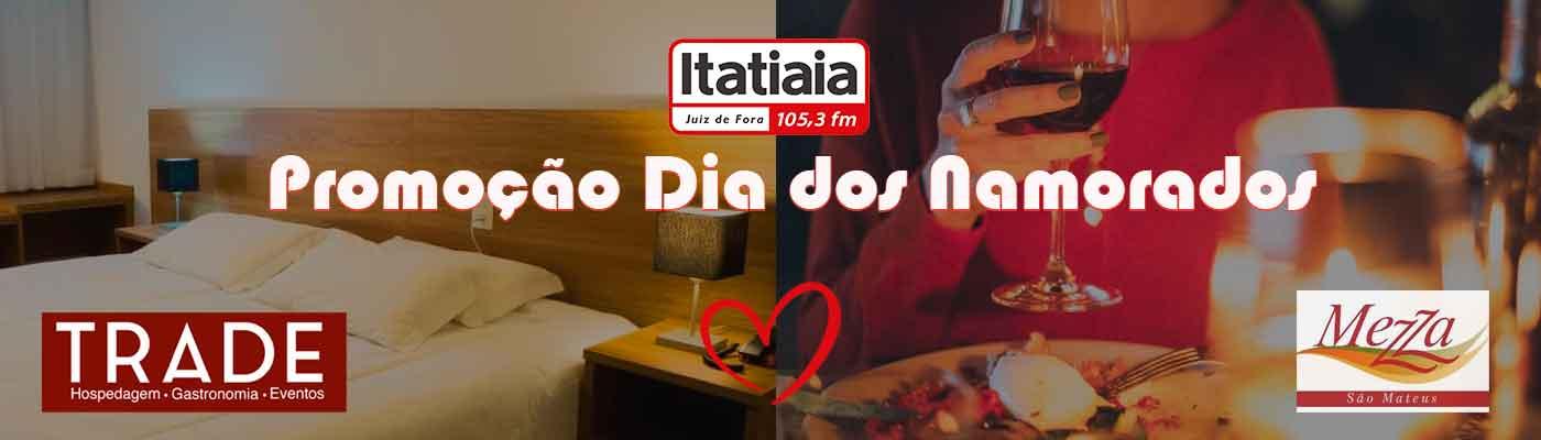 promoção Dia dos Namorados FM Itatiaia