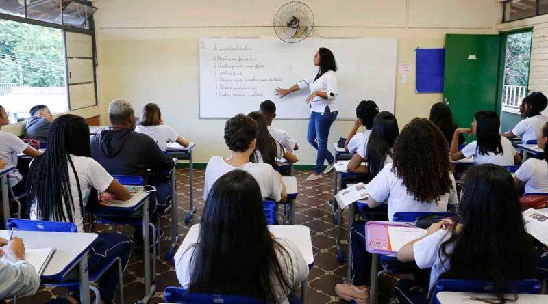 contratação professor estado